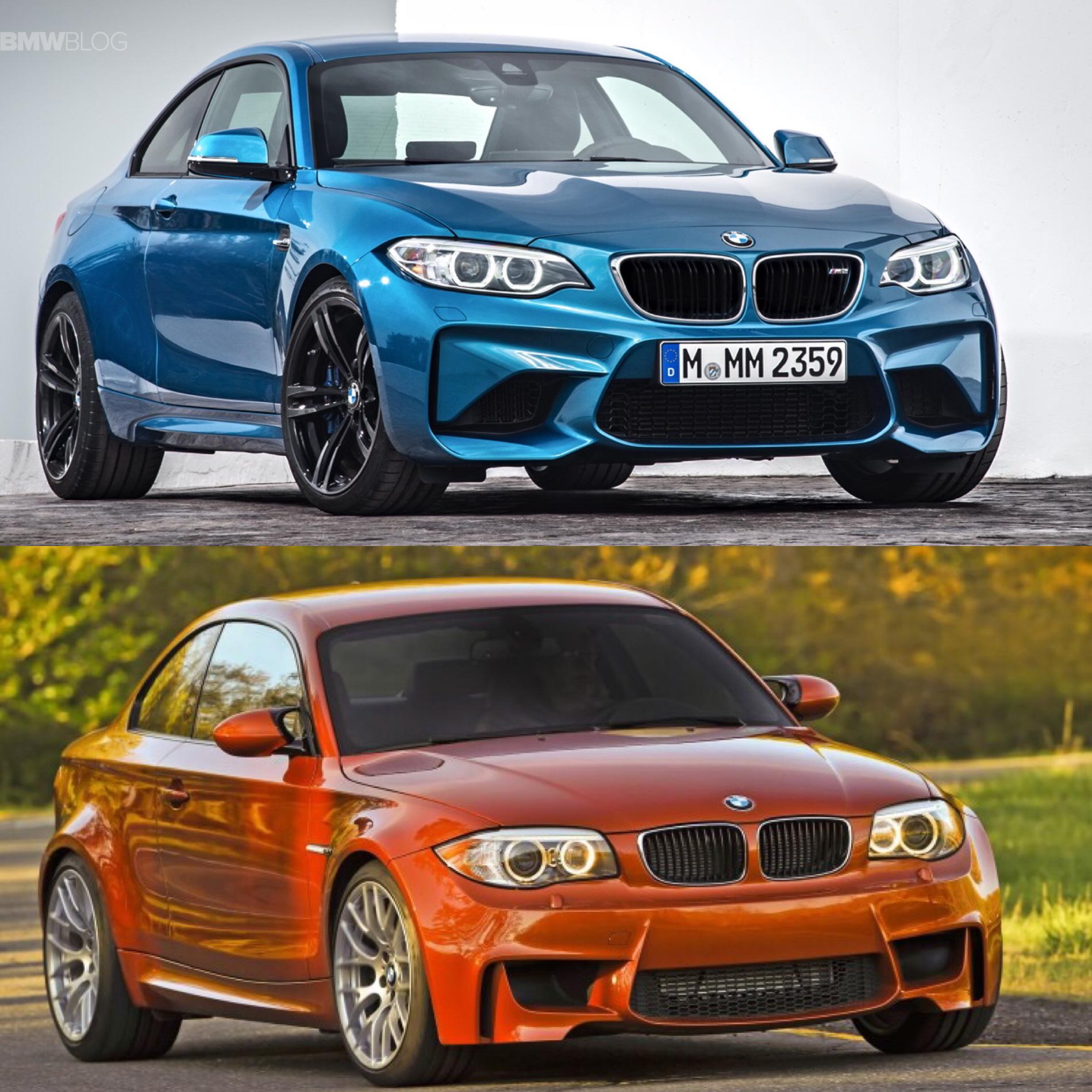 BMW M2 vs BMW 1M comparison 02