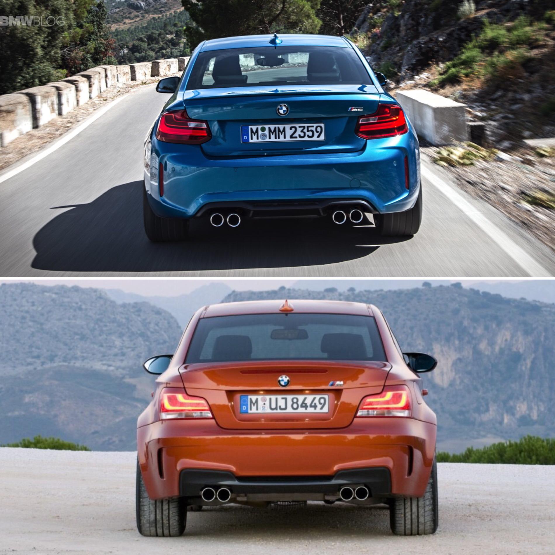 Bmw M2 Series >> BMW M2 vs. BMW 1M - Photo Comparison
