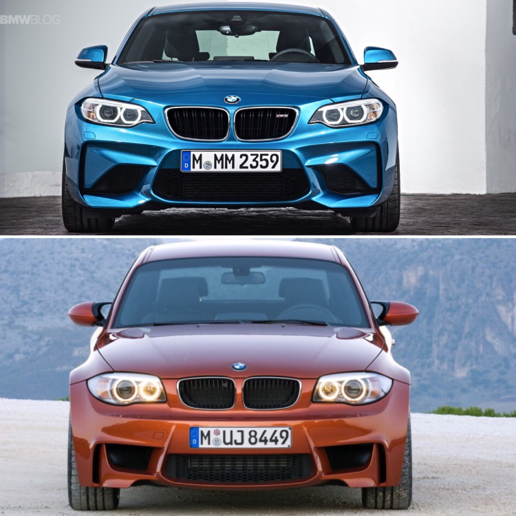 BMW M2 vs BMW 1M comparison 05 750x750