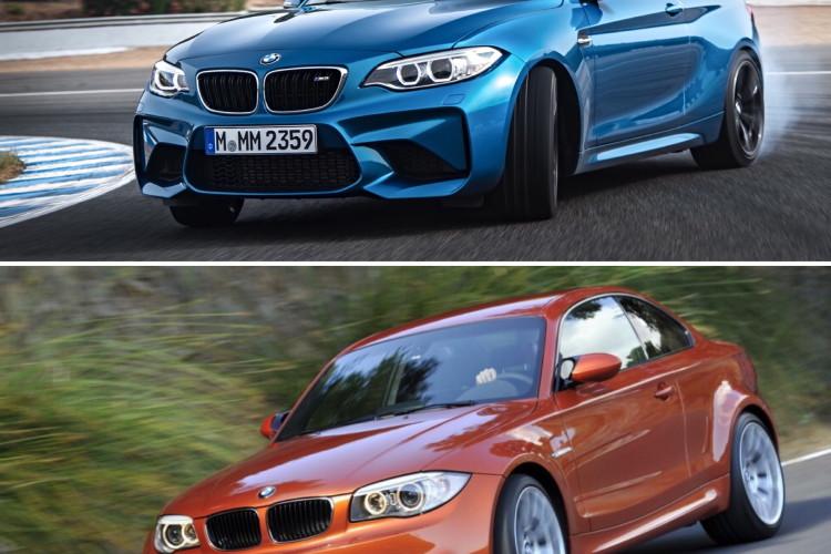 BMW M2 vs BMW 1M comparison 07 750x500