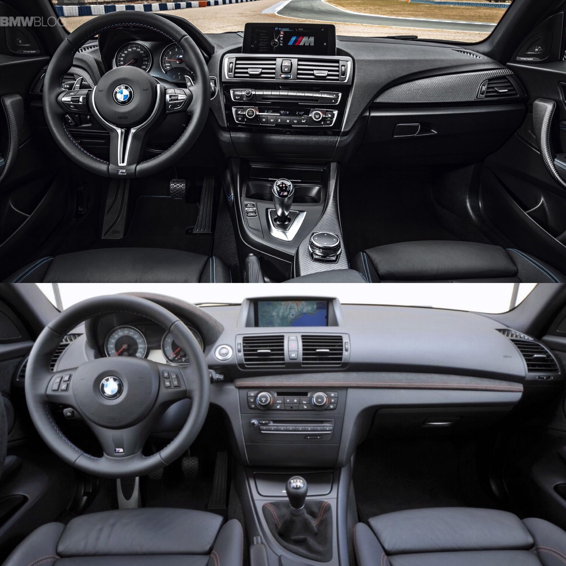 BMW M2 vs. BMW 1M - Photo Comparison