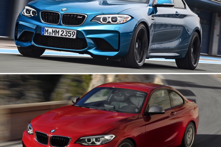 BMW M2 vs BMW M235i comparison 03 750x500