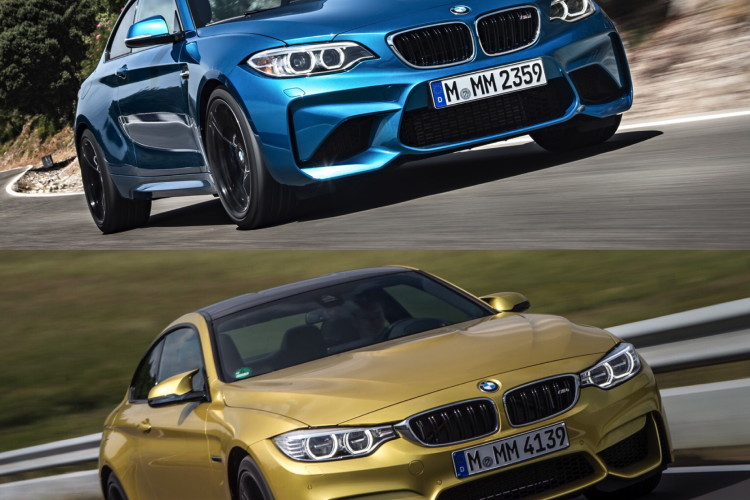 BMW M2 vs BMW M4 comparison 03 750x500