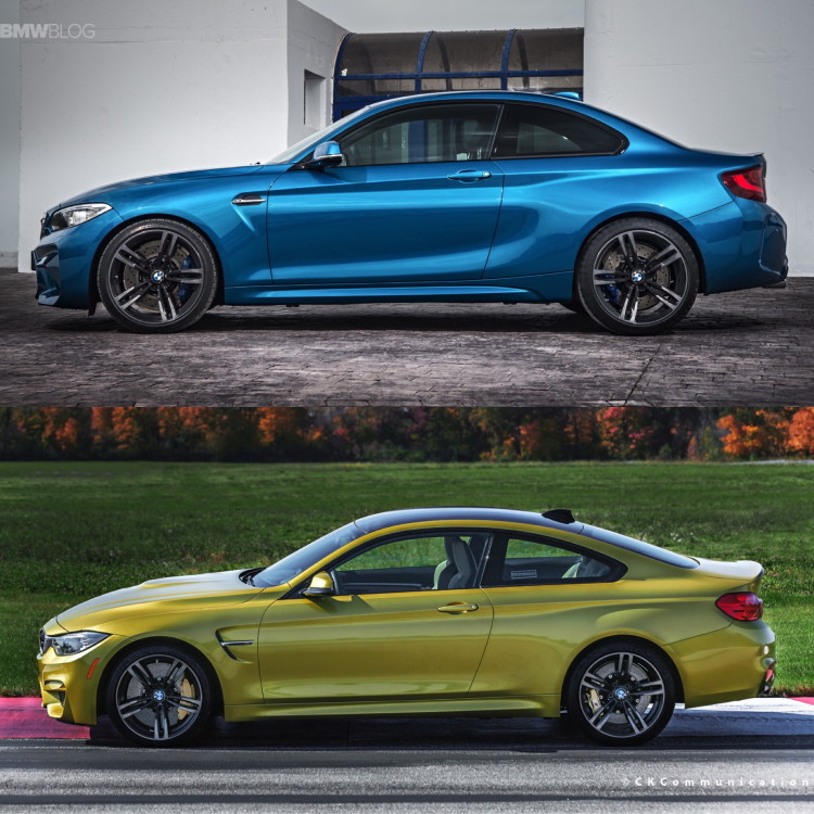 BMW M2 vs BMW M4 comparison 04 750x750