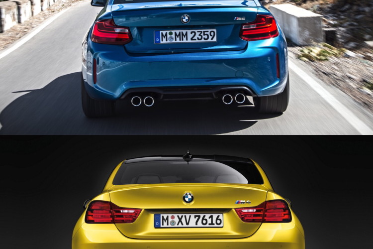 BMW M2 vs BMW M4 comparison 08 750x500