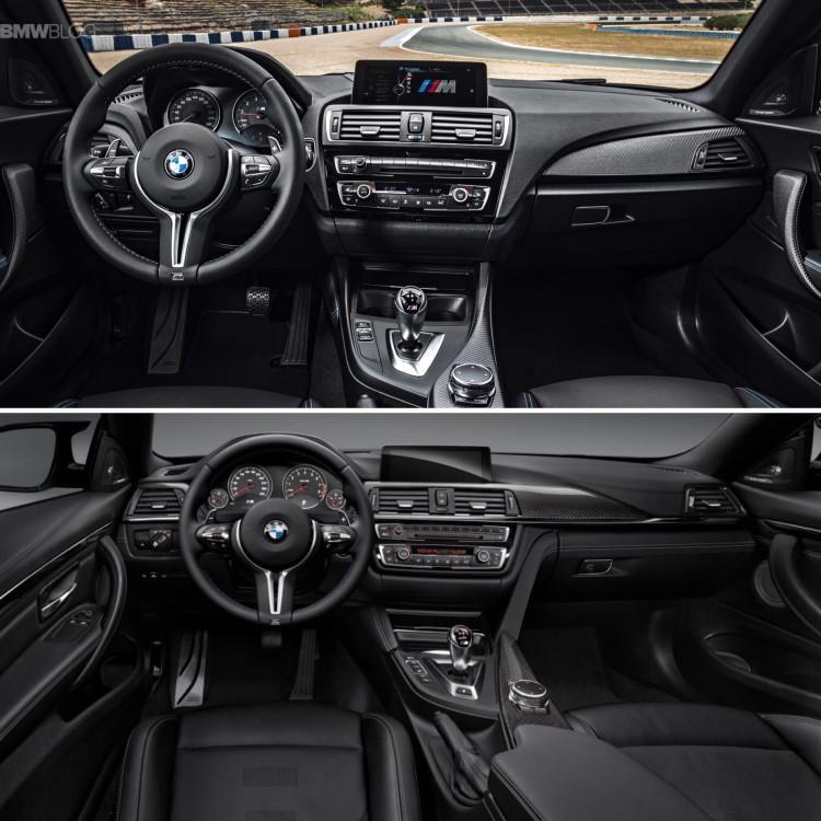 BMW M2 vs BMW M4 comparison 11 750x750