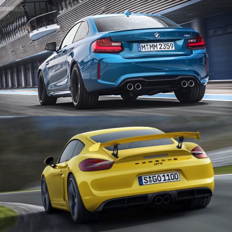 BMW M2 vs Porsche Cayman GT4 03 750x750