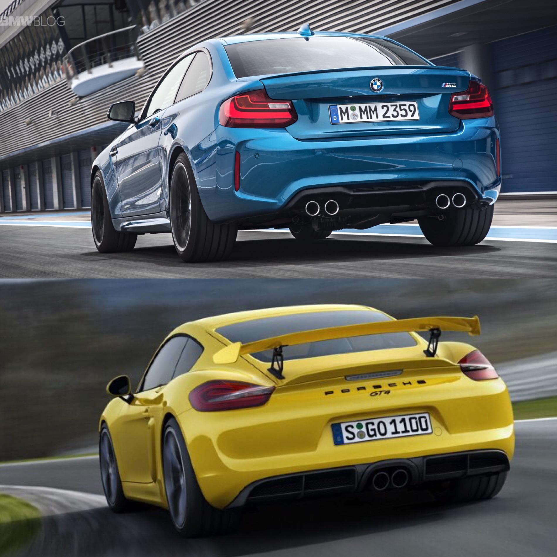 Porsche 911 Gts Engine: BMW M2 Vs Porsche Cayman GT4