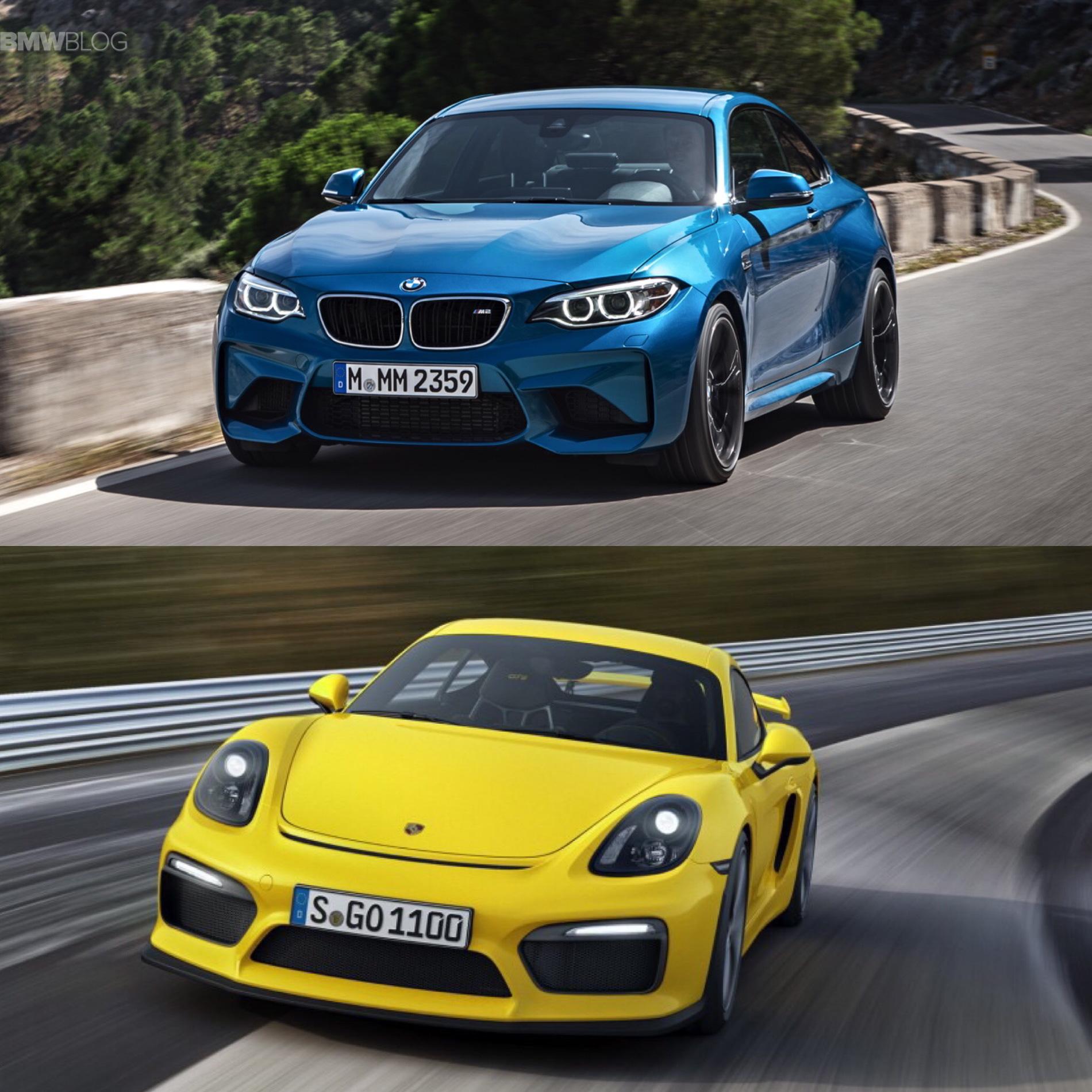Bmw Z 8 For Sale: BMW M2 Vs Porsche Cayman GT4