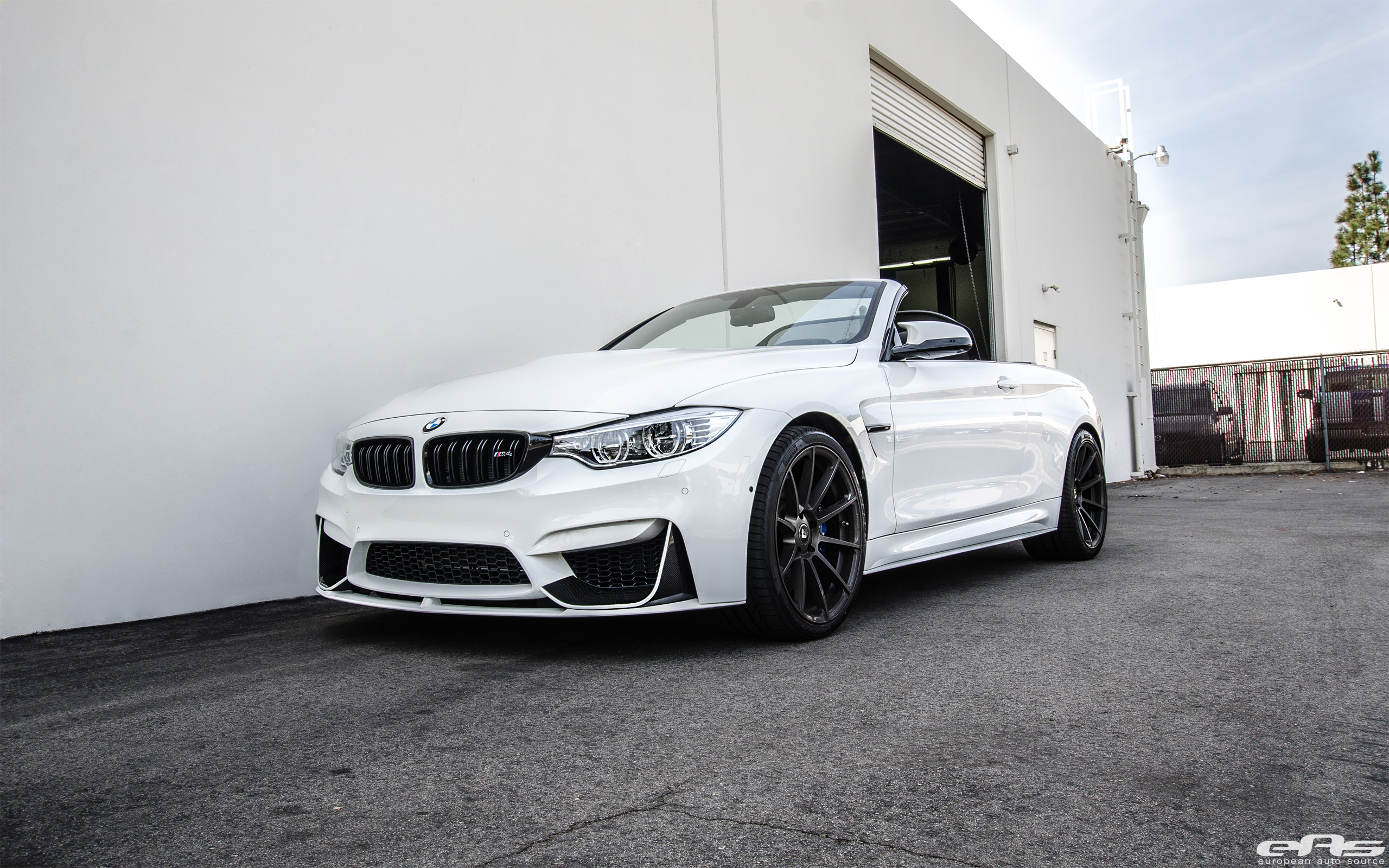 Photoshoot Bmw M4 Convertible Rocking Vorsteiner Wheels