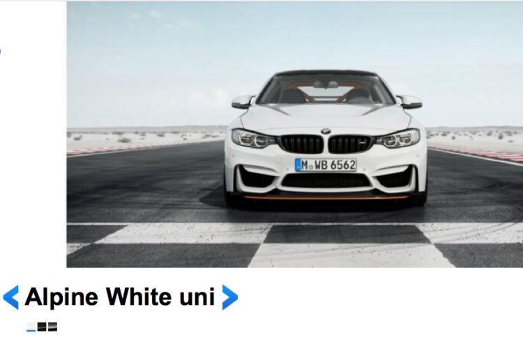 BMW M4 GTS Alpine White 2 750x500