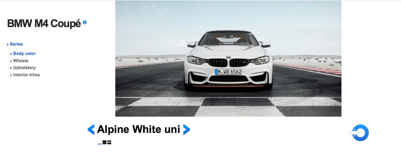 BMW M4 GTS Alpine White 2