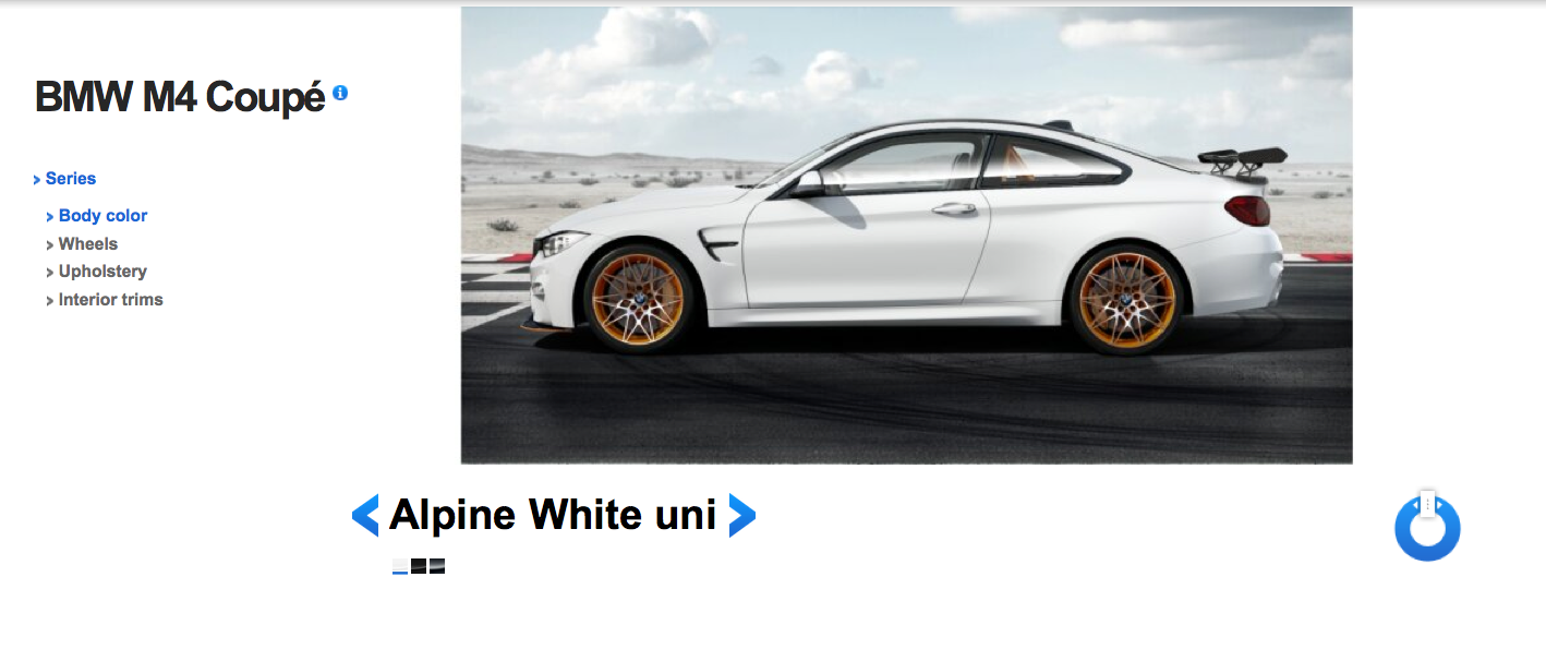 BMW M4 GTS Alpine White 3