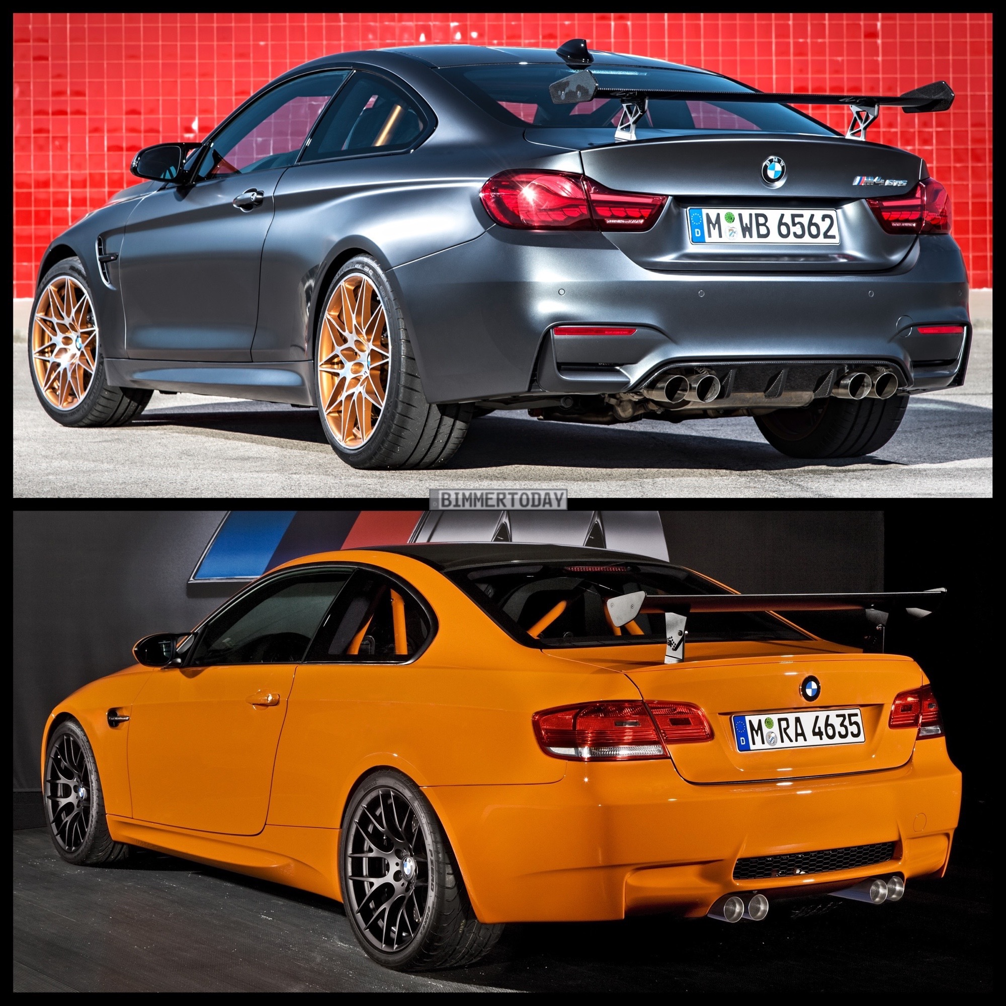 bmw m4 gts vs bmw m3 gts photo comparison. Black Bedroom Furniture Sets. Home Design Ideas