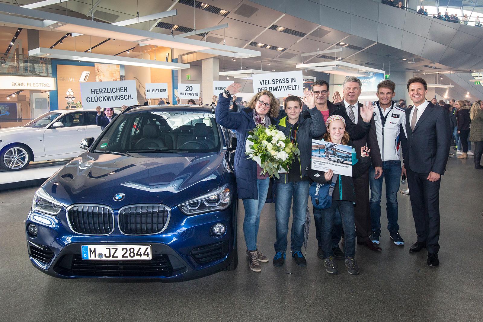 BMW Welt Visitor X1