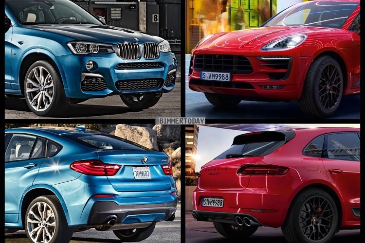 Bild Vergleich BMW X4 M40i F26 Porsche Macan GTS 2015 01 750x500