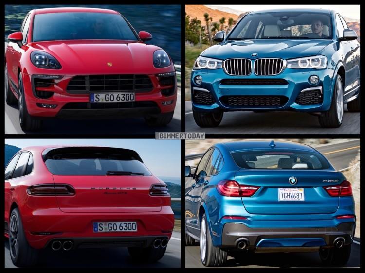 Bild Vergleich BMW X4 M40i F26 Porsche Macan GTS 2015 03 750x562