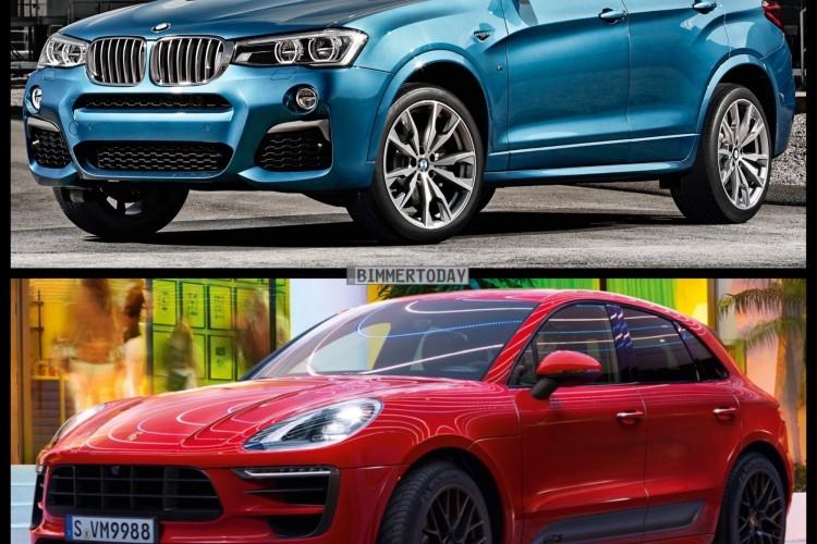 Bild Vergleich BMW X4 M40i F26 Porsche Macan GTS 2015 04 750x500