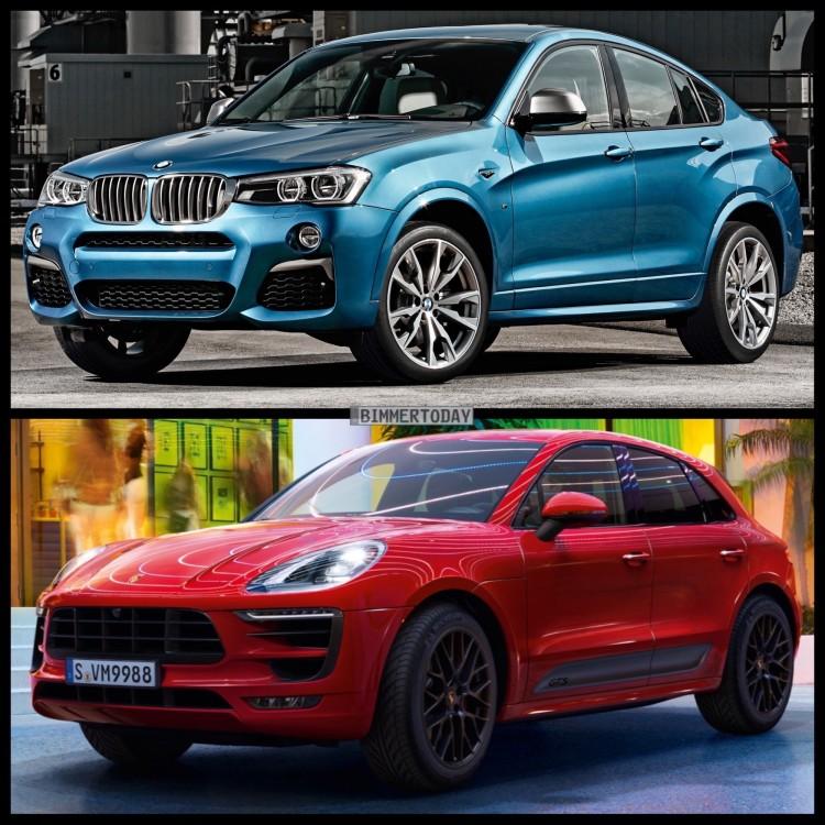 Bild Vergleich BMW X4 M40i F26 Porsche Macan GTS 2015 04 750x750