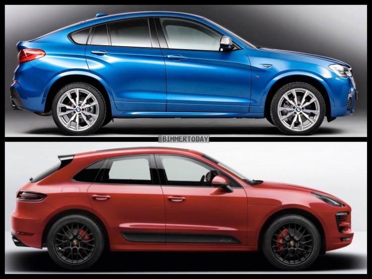 Bild Vergleich BMW X4 M40i F26 Porsche Macan GTS 2015 06 750x562