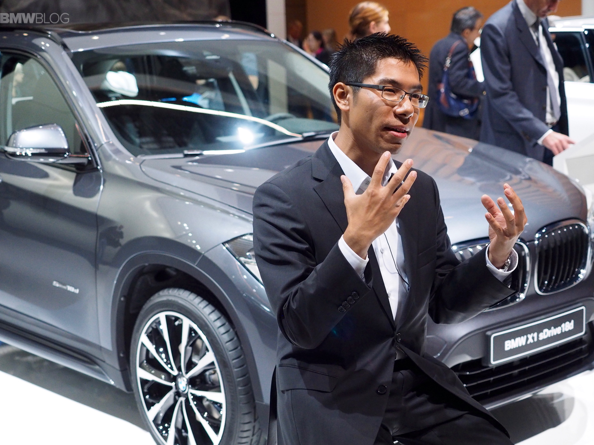 Calvin Luk BMW X1 designer 01
