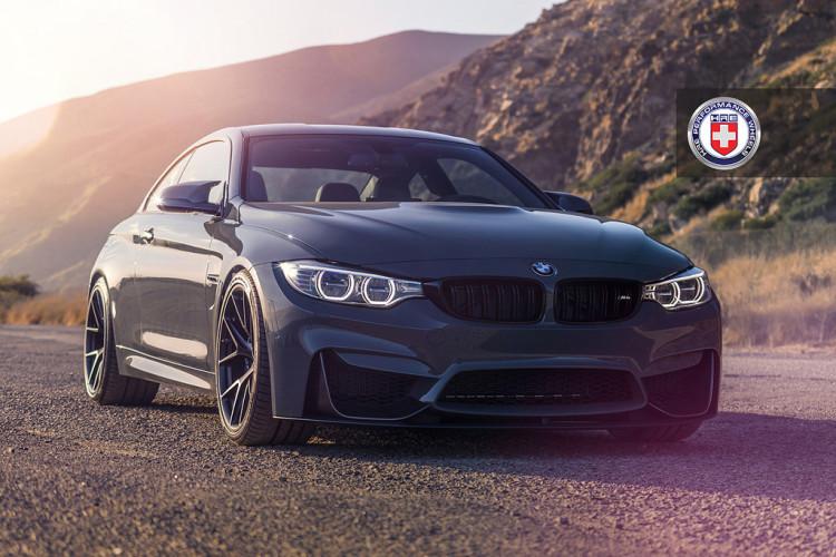 Photoshoot: Grigio Medio BMW M4 with HRE P101 Wheels