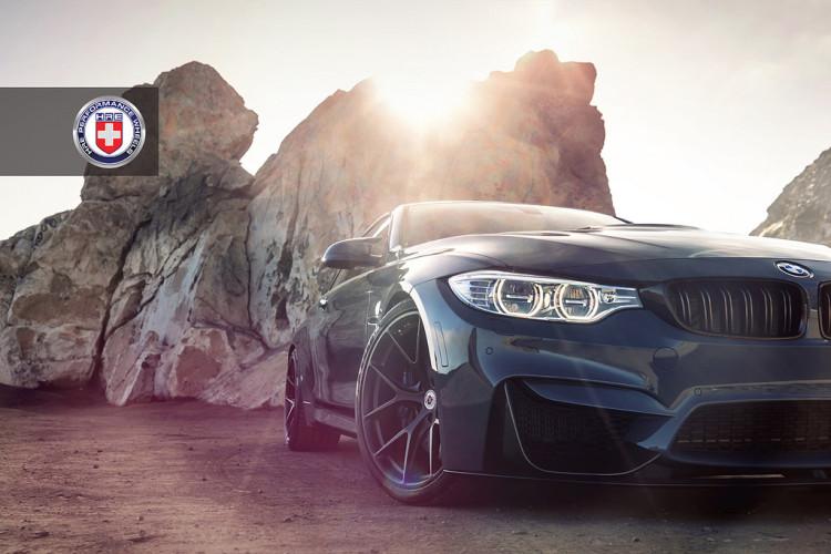 Grigio Medio BMW M4 with HRE P101 Wheels 20 750x500