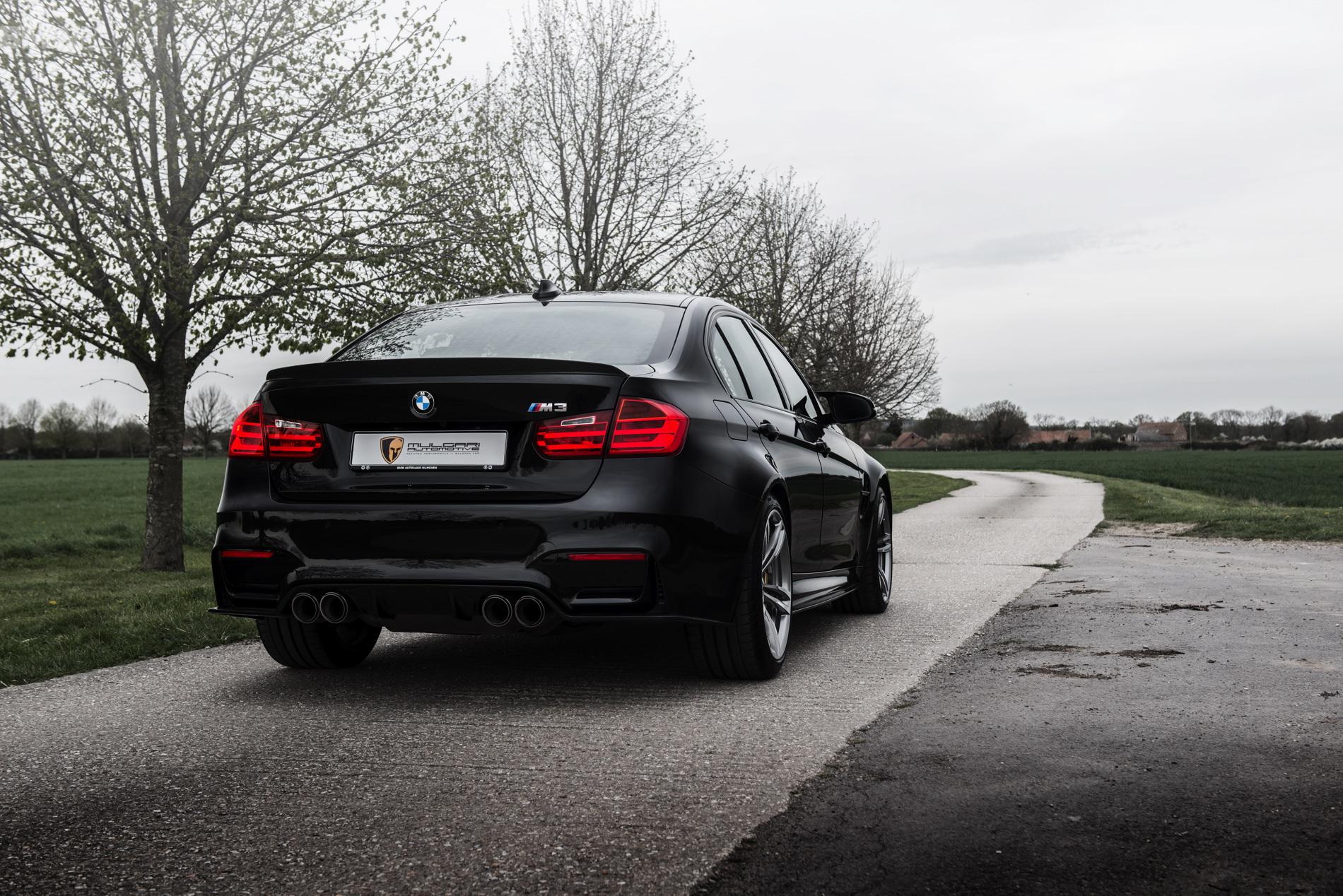 Sapphire Black Bmw M3 Gets Tuned By Mulgari Automotive