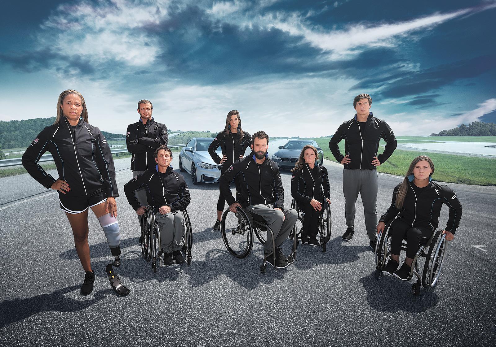 bmw olympics team 2016