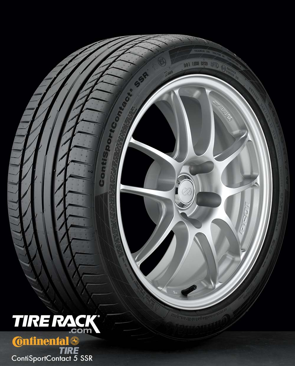 Tire Review: Continental ContiSportContact 5 SSR on BMW ...