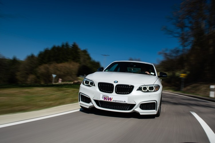 kw coilovers bmw 2 series coupe 1 750x499