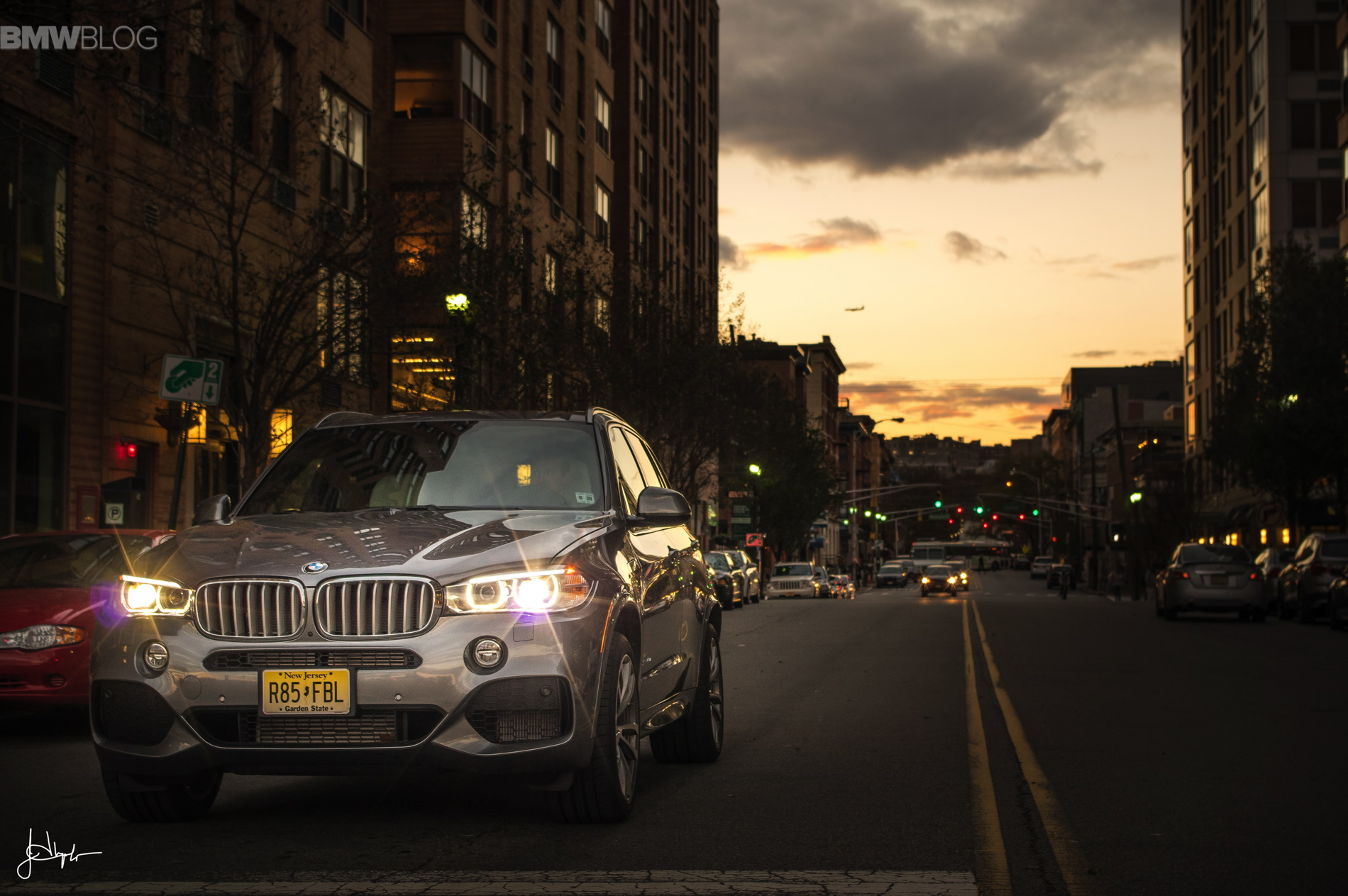2015 BMW X5 xDrive40e test drive 41