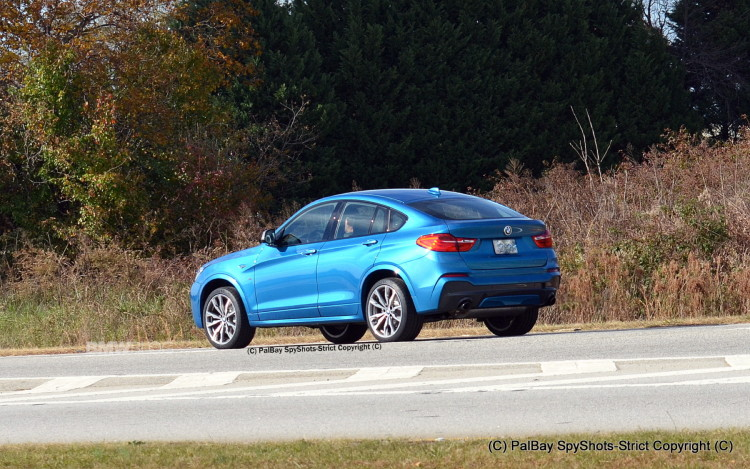 2016 BMW X4 M40i Long Beach Blue 11 750x469