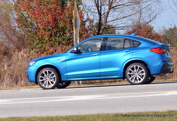 2016 BMW X4 M40i Long Beach Blue 8 750x512