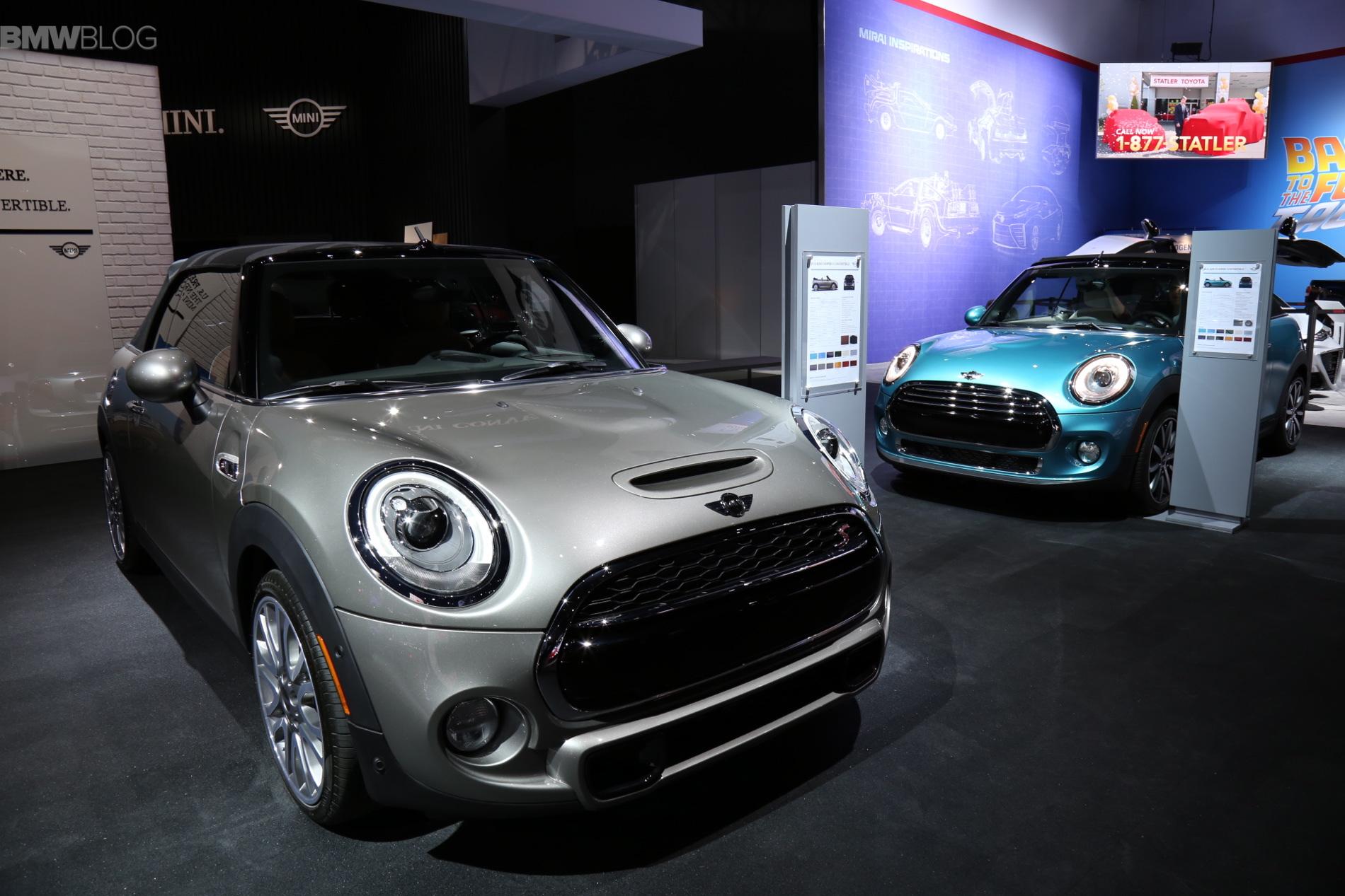 The New Mini Convertible Debuts At The 2015 La Auto Show