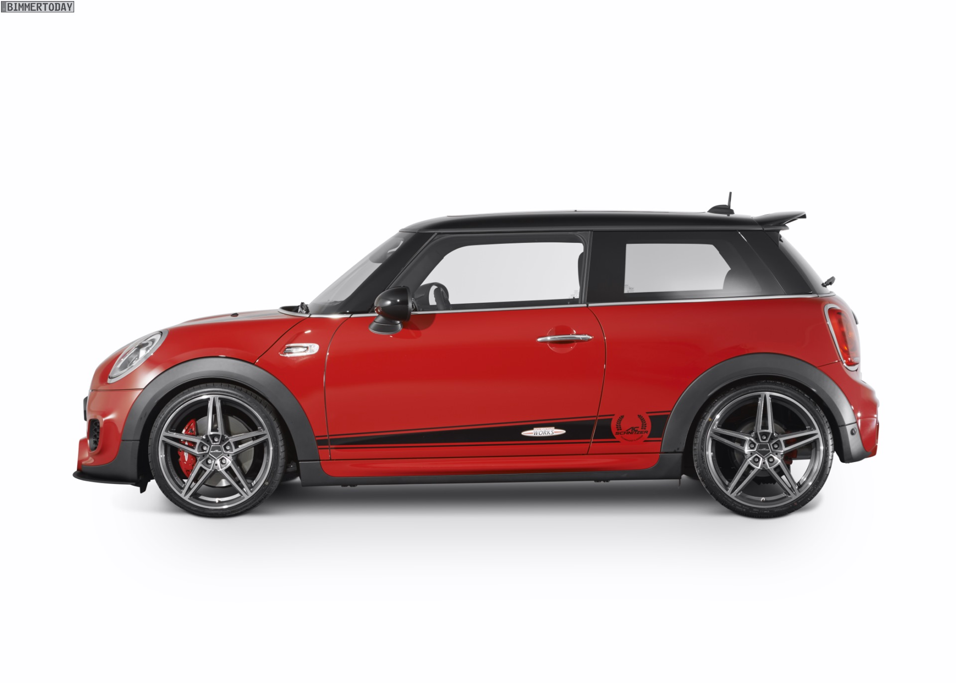 ac schnitzer mini john cooper works f56 with 265 hp heads. Black Bedroom Furniture Sets. Home Design Ideas