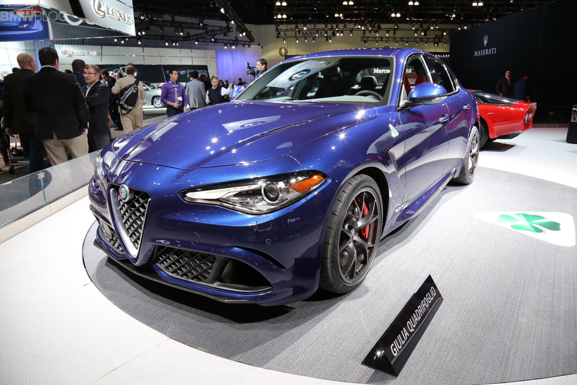 Alfa Romeo Giulia 2015 LA Auto Show 1