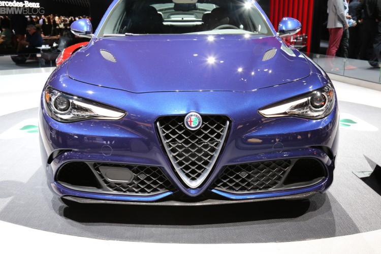 Alfa Romeo Giulia 2015 LA Auto Show 2 750x500