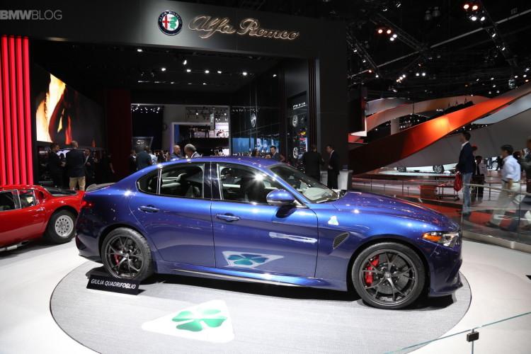 Alfa Romeo Quadrifoglio in LA