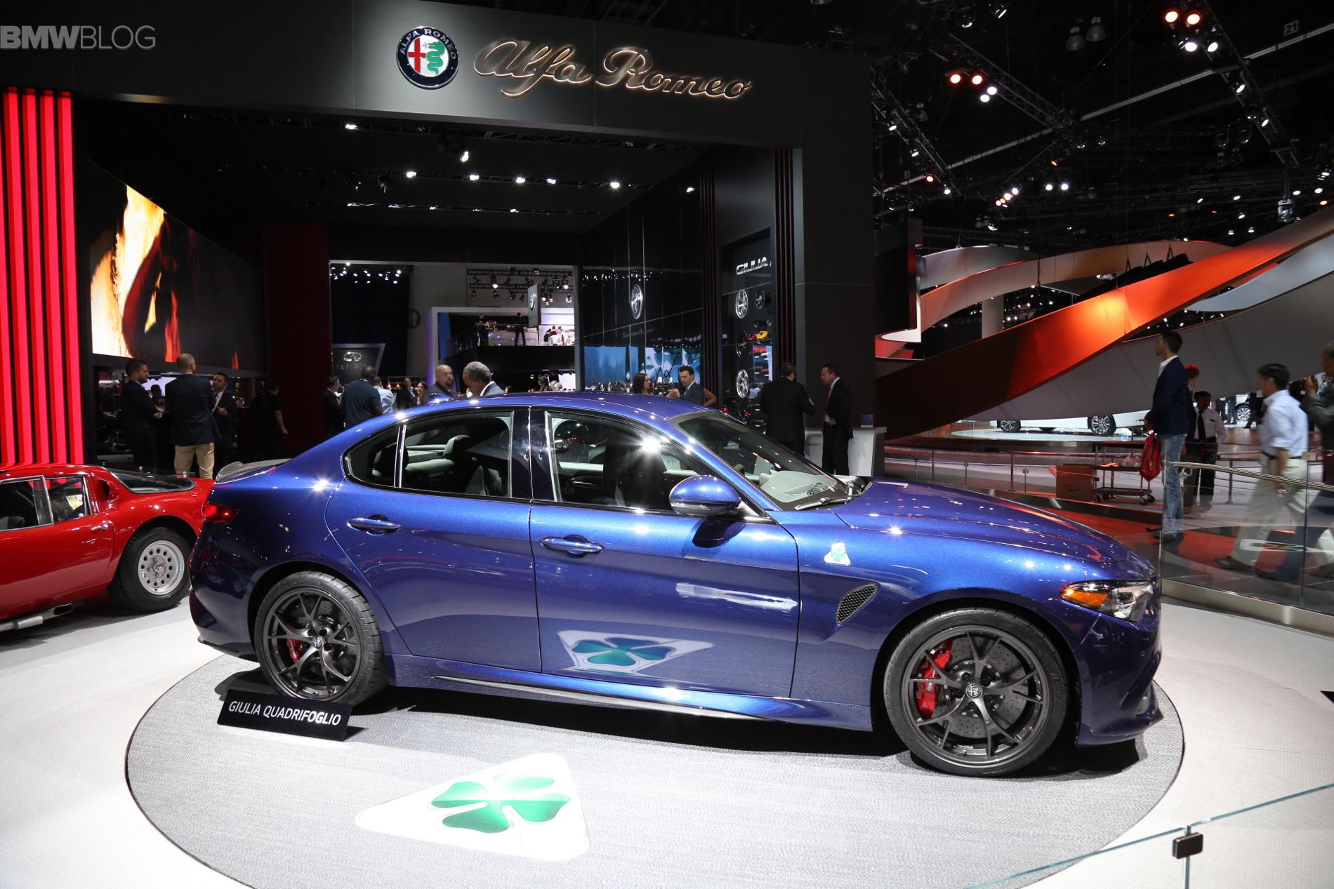 Alfa Romeo Giulia 2015 LA Auto Show 4