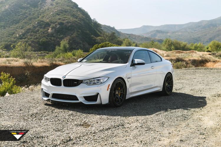 Alpine White BMW M4 Featuring A Vorsteiner Aero-images-4