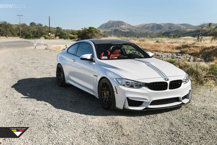 Alpine White BMW M4 Featuring A Vorsteiner Aero images 2 750x501