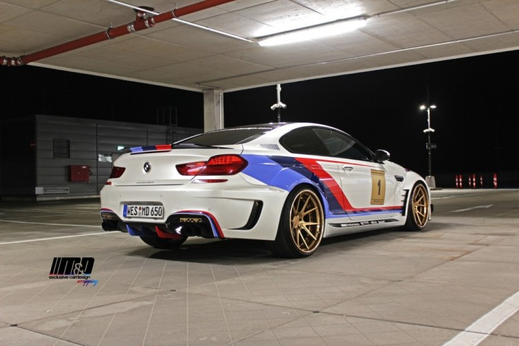 BMW 650i with GT3 Treatment by Prior Design 17 750x500