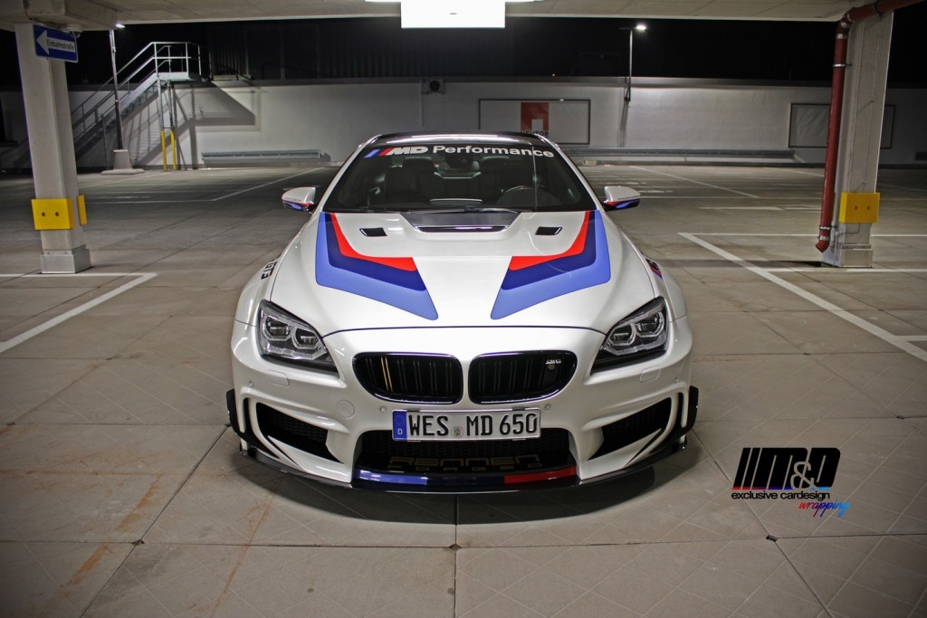 Bmw 650i By M Amp D Gets Gt3 Bodykit