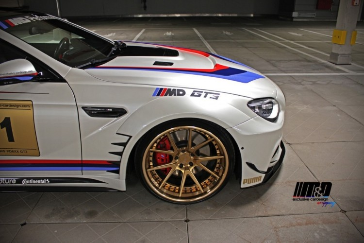 BMW 650i with GT3 Treatment by Prior Design 6 750x500