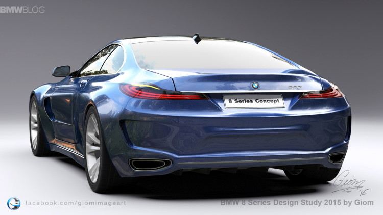 BMW 8 Series Design Study images 1 750x422