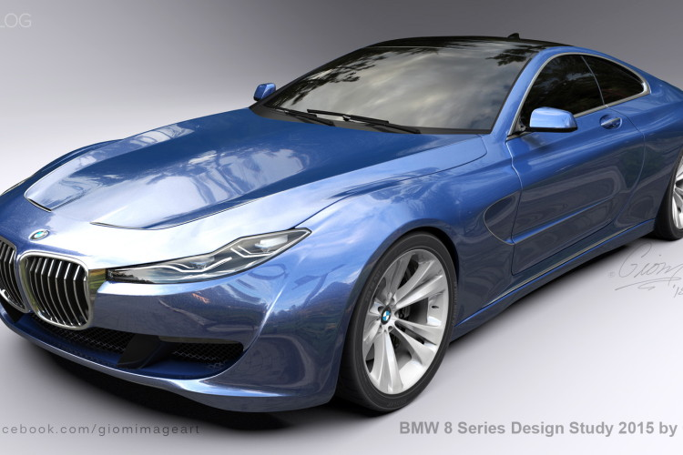BMW 8 Series Design Study images 6 750x500