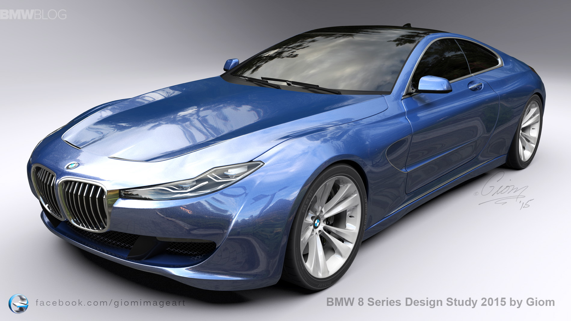 Bmw 8 Series Design Study Aims To Revive The Spirit Of The Legendary Bmw