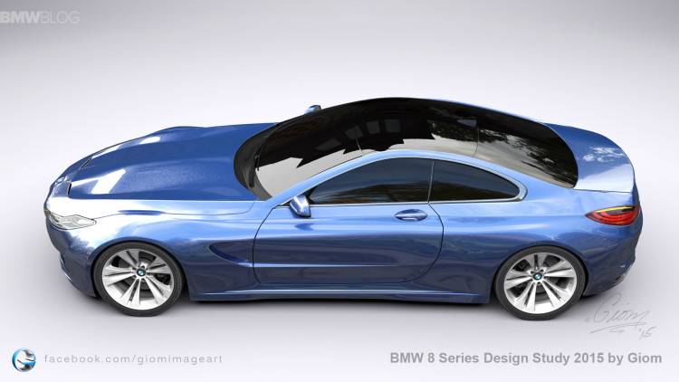 BMW 8 Series Design Study images 8 750x422