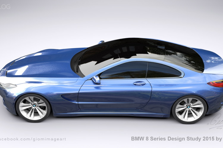 BMW 8 Series Design Study images 8 750x500